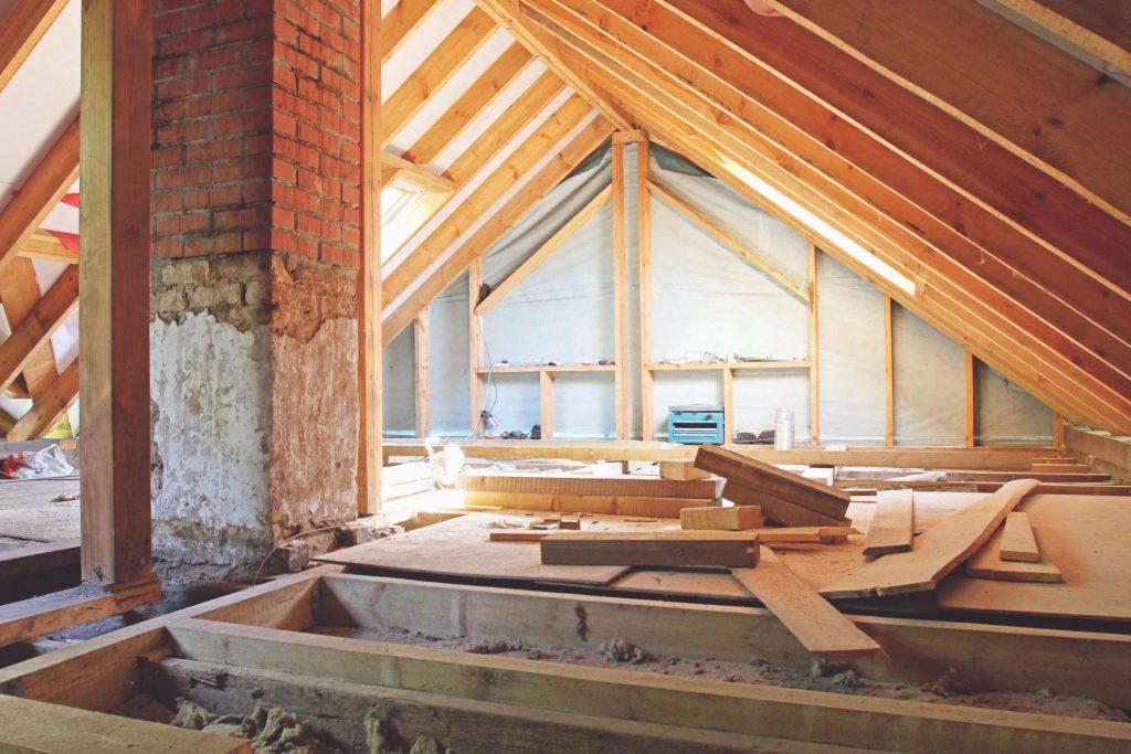 asbestos insulation in progress