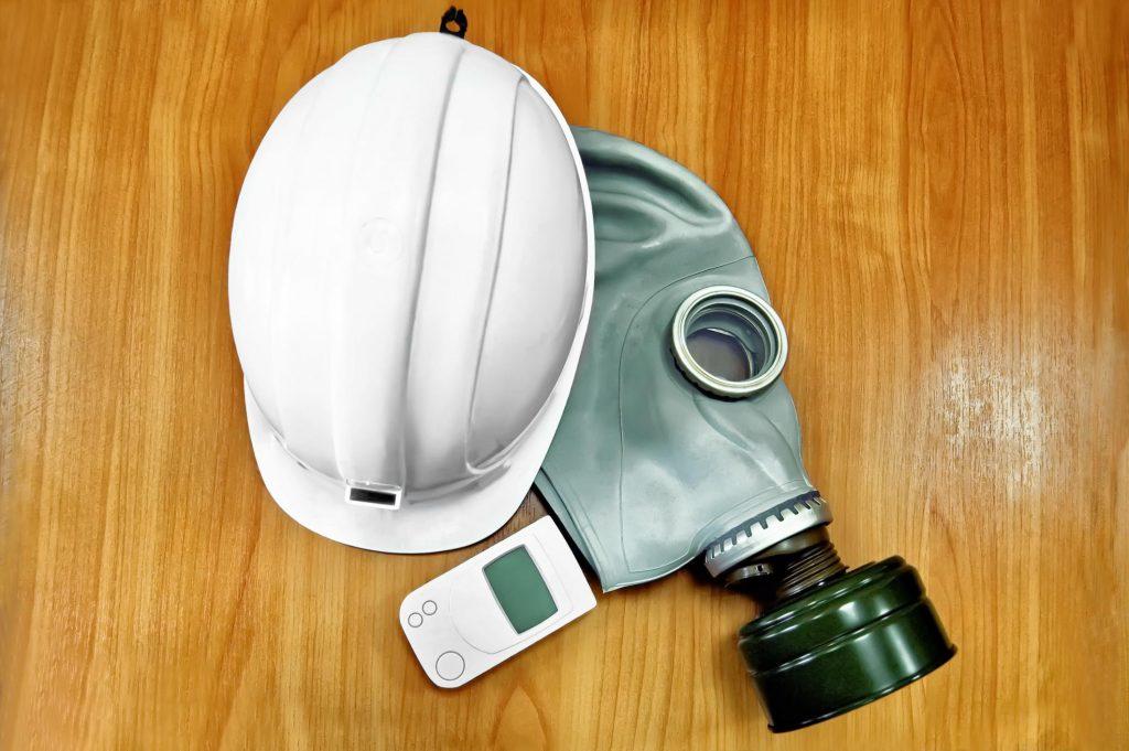 asbestos safety mask hat